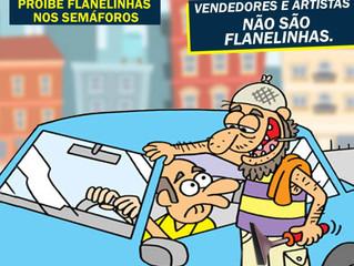 Vereador Minhoca apresenta projeto de Lei proibindo flanelinhas nos semáforos