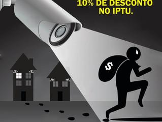 Projeto que prevê desconto no IPTU para quem tiver câmera em casa é apresentado
