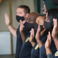 Manning police taking the 4-part pledge