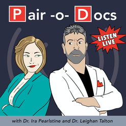 Pair-O-Docs Podcast Graphic