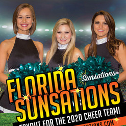 Florida Sunsations Auditions Flyer