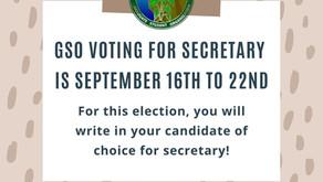 GSO Secretary Elections 2021