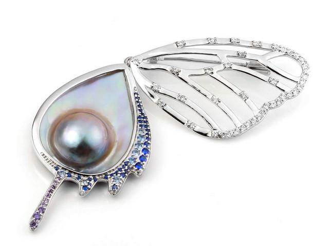 海水馬貝彩虹珍珠