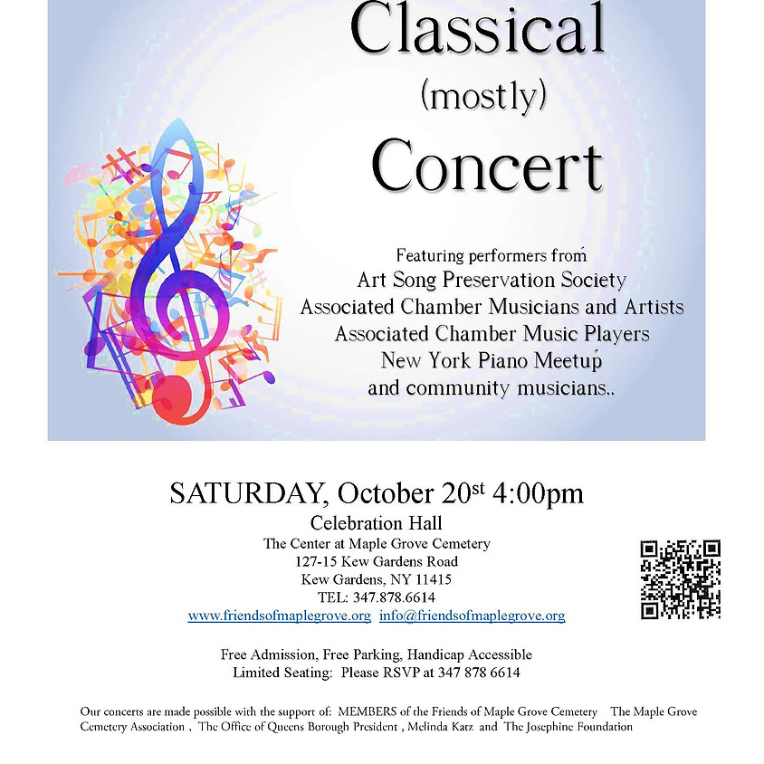 Classical (Mostly) Concert