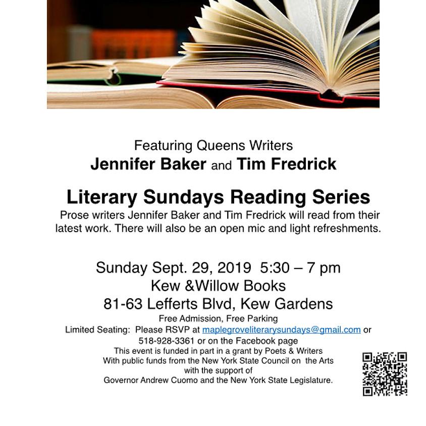 Literary Sundays Reading Series