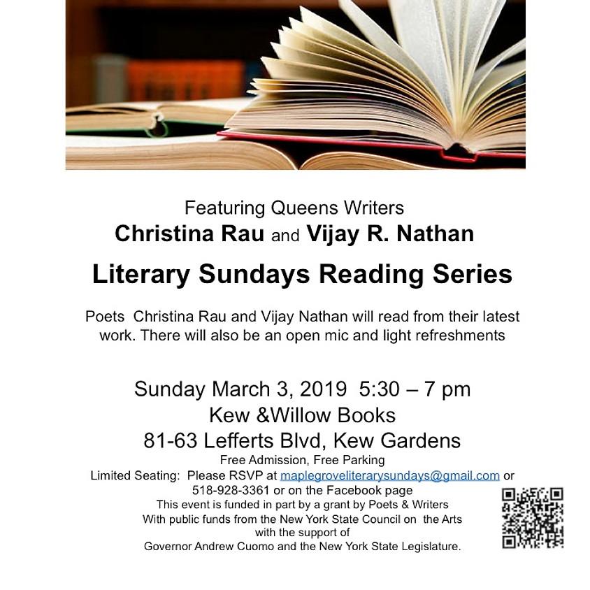 Literary Sunday at the Kew & Willow Bookshop