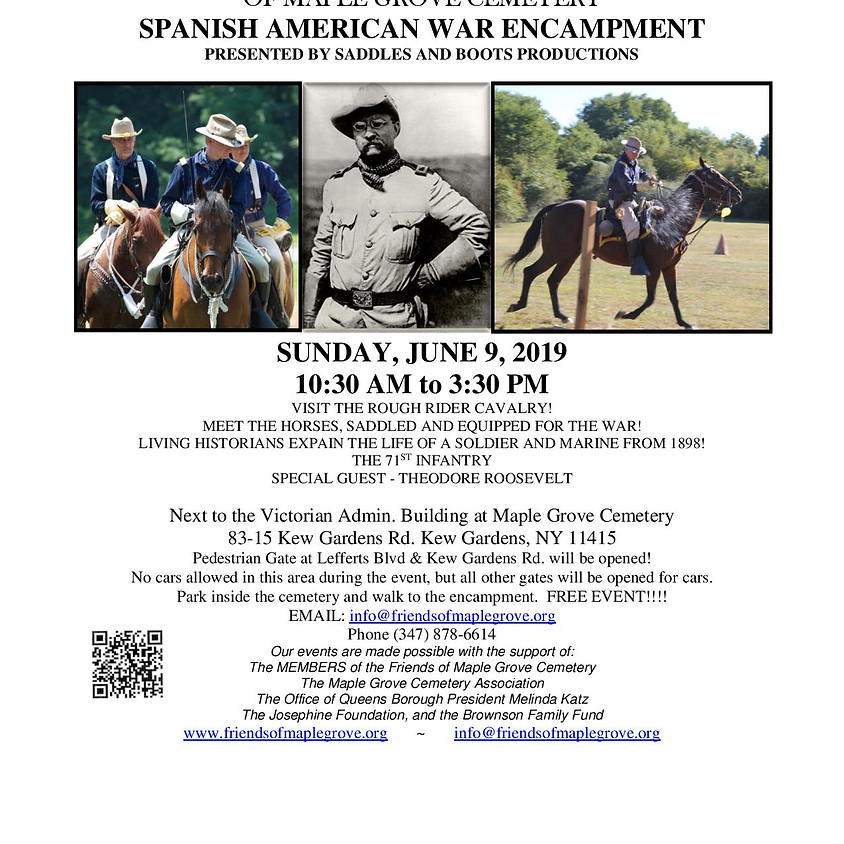 Spanish American War Encampment