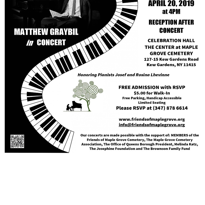 Matthew Graybil Concert