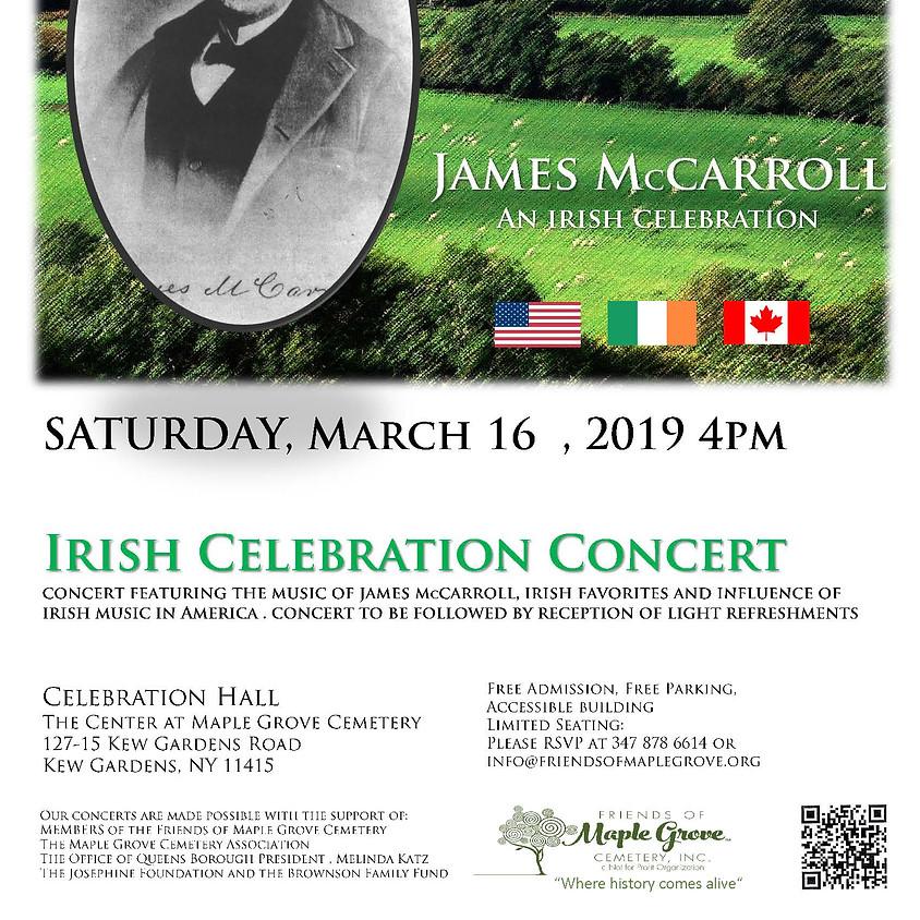 James McCarroll: An Irish Celebration Concert
