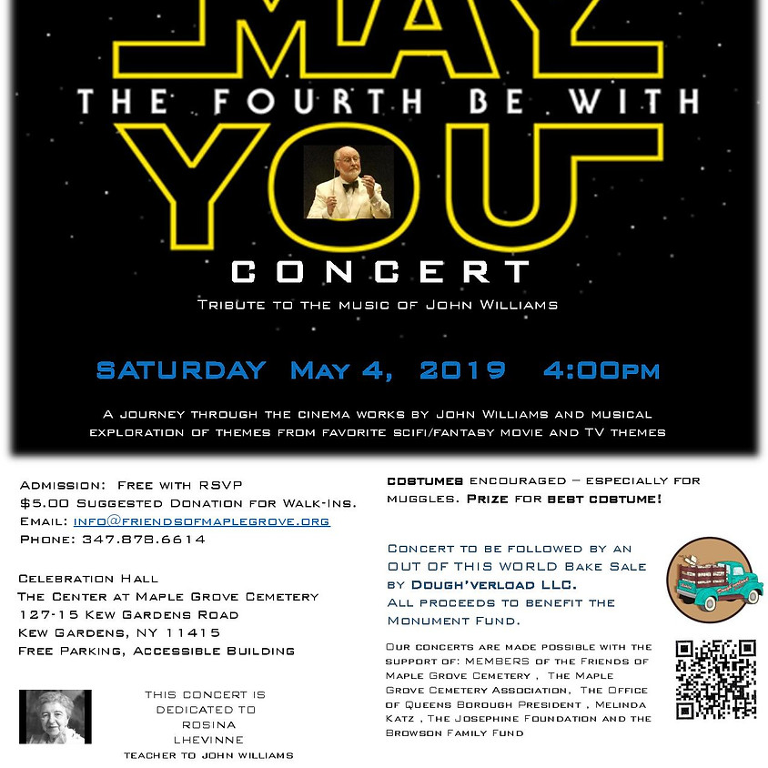 May The Fourth Be With You Concert