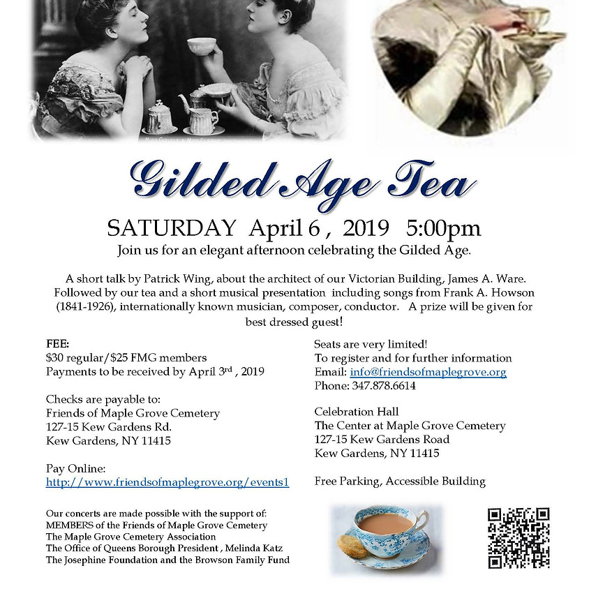 Gilded Age Tea