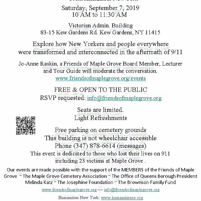 9/11 National Day of Service & Remembrance