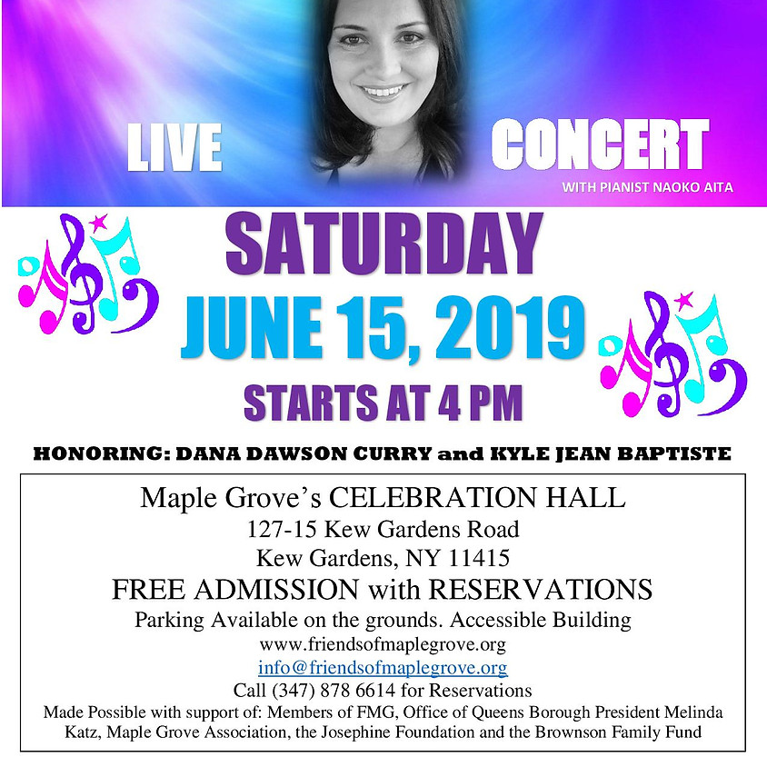 Mariel Pacific Live Concert