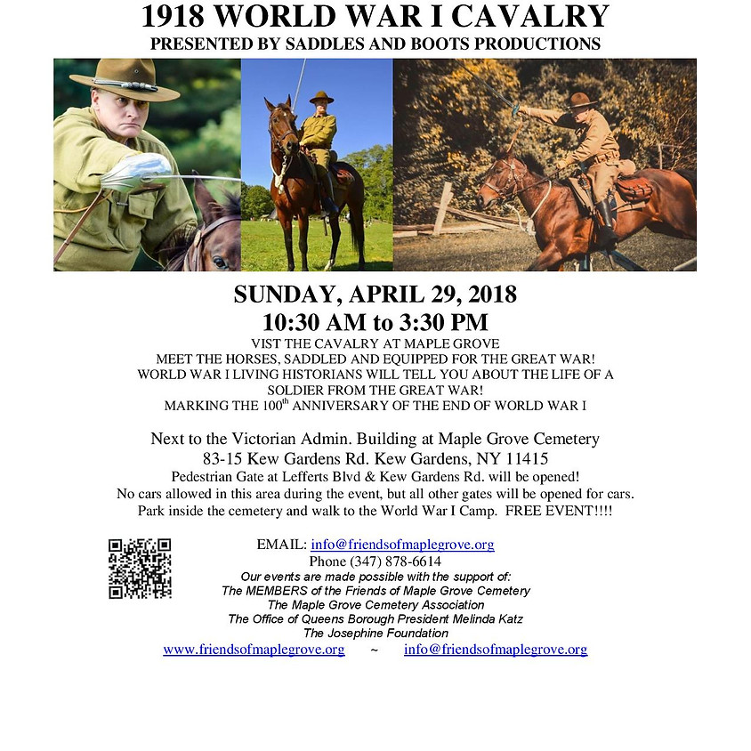 1918 World War I Cavalry