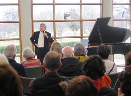 David Holtzman Concert and Lecture