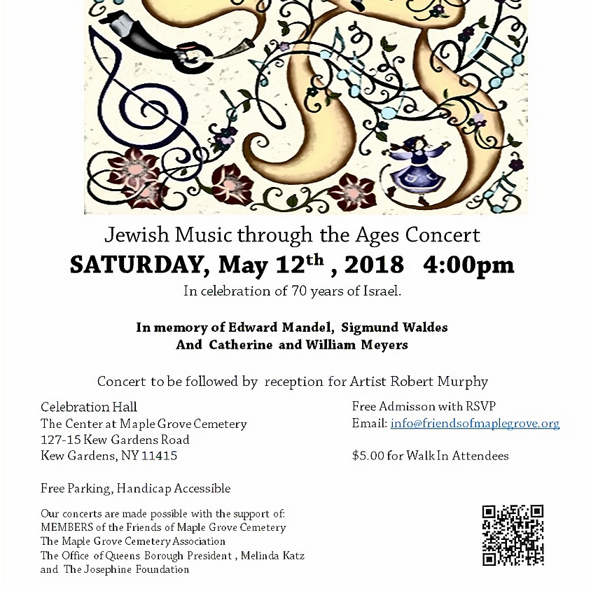Jewish Music through the Ages Concert