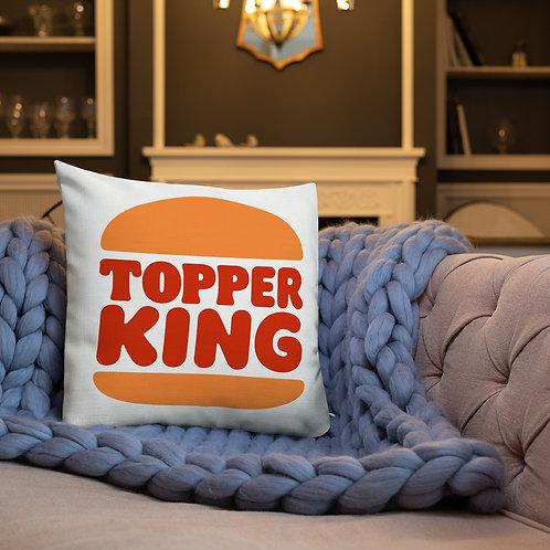 Topper King Premium Pillow WHITE
