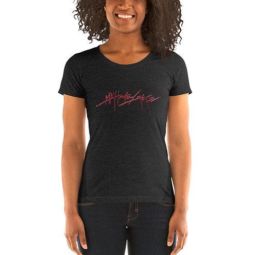 My Homie Gomie DP Ladies Tri-blend Short Sleeve Shirt