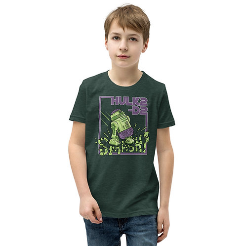 HULK2-D2 Youth Short Sleeve Shirt