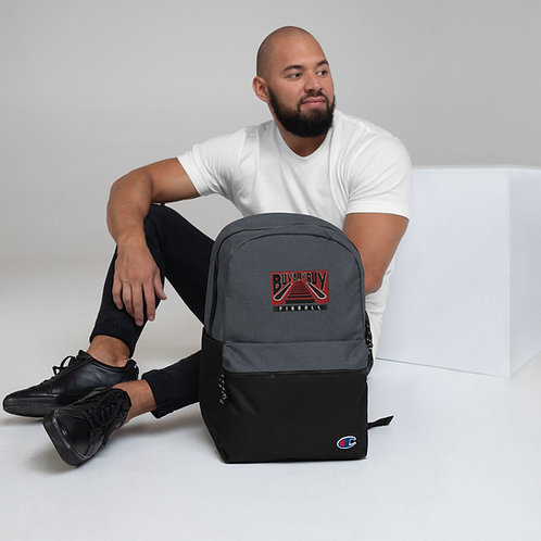 Buy Buy Buy Pinball Embroidered Champion Backpack