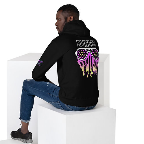 Blinded By D-wight PINK/YELLOW Unisex Hoodie