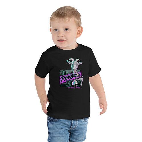 The Pinball Show Goat Toddler Short Sleeve Tee