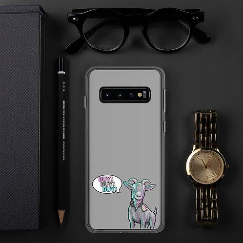 The Screaming Pinball Goat Samsung Case GRAY