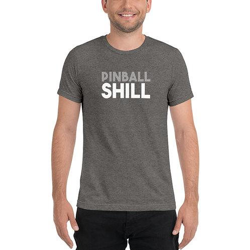 Pinball Shill Short Sleeve Tri-blend Shirt