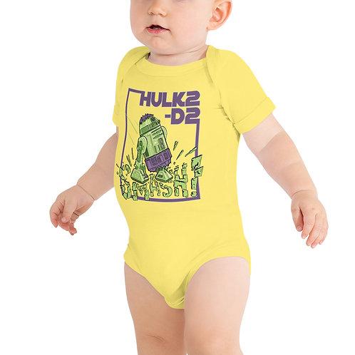 HULK2-D2 Baby Short Sleeve One Piece