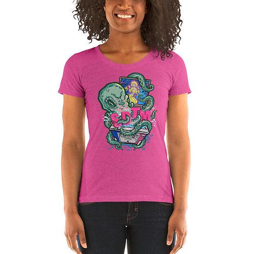 SDTM Return Of The Kraken Ladies Tri-blend Short Sleeve Shirt
