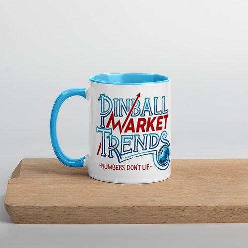 Pinball Market Trends Mug BLUE
