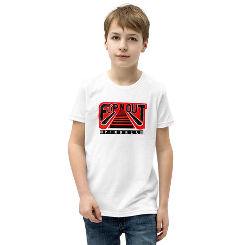 Flip N Out Pinball Youth Short Sleeve Shirt
