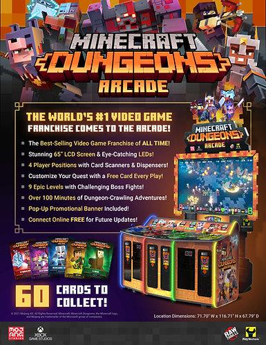 Minecraft Dungeons Arcade - (Raw Thrills, 2021)
