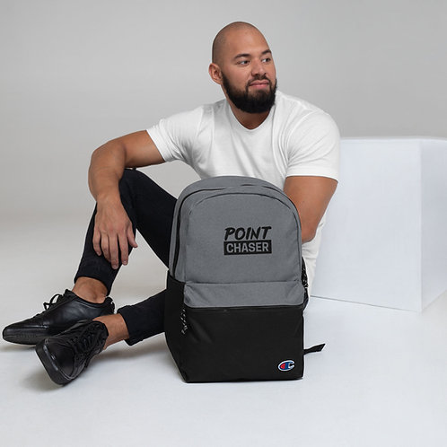 Point Chaser Embroidered Champion Backpack