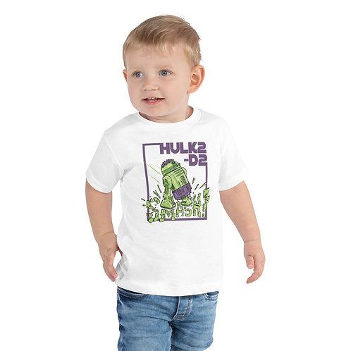 HULK2-D2 Toddler Short Sleeve Tee