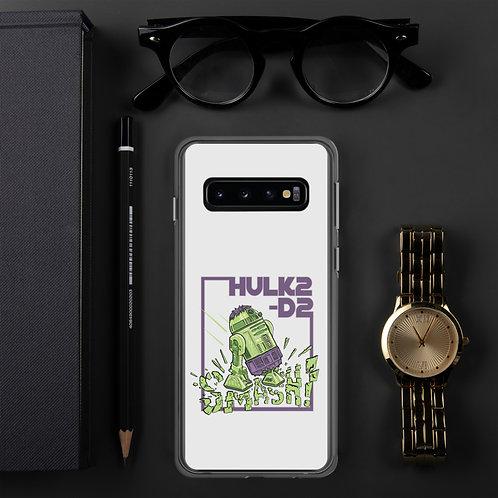 HULK2-D2 Samsung Case LIGHT GRAY
