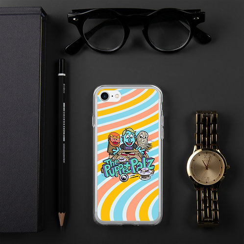 The Puppet Palz iPhone Case COLOR SWIRL