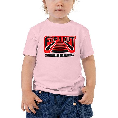 Flip N Out Pinball Toddler Short Sleeve Tee