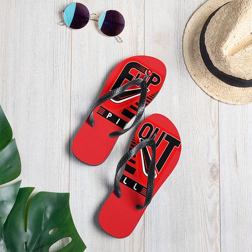 Flip-N-Flops RED