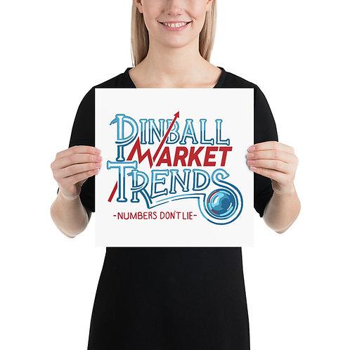 Pinball Market Trends Art Print
