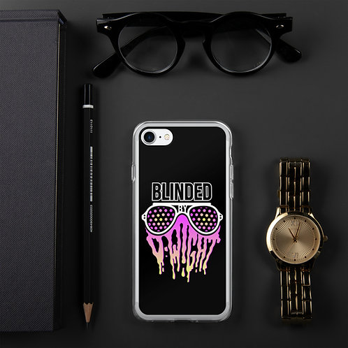 Blinded By D-wight iPhone Case BLACK
