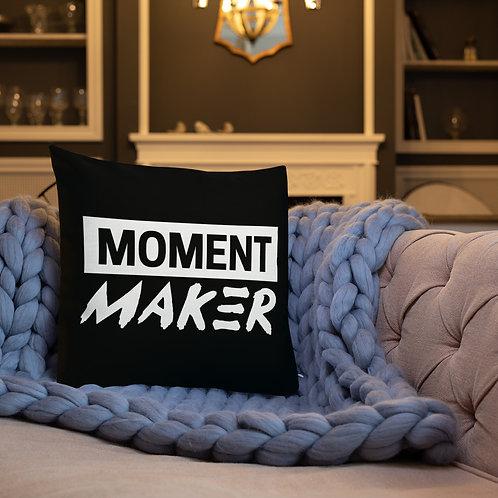 Moment Maker Premium Pillow BLACK