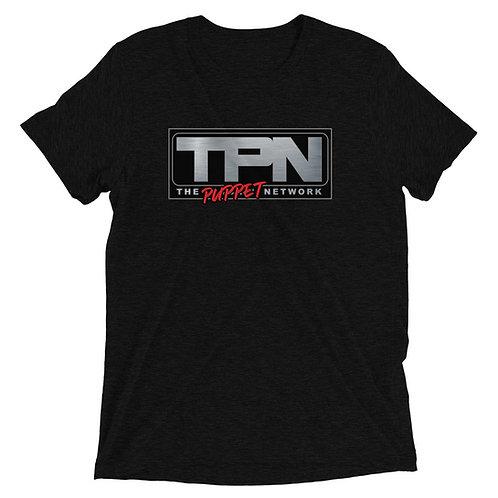 The Puppet Network Short Sleeve Tri-blend Shirt