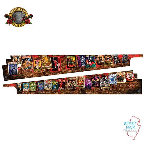 Official Guns N' Roses Pinball Art Blades