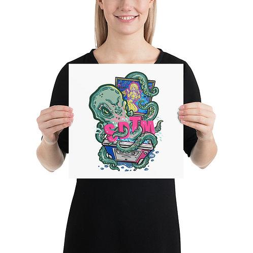 SDTM Return Of The Kraken Art Print