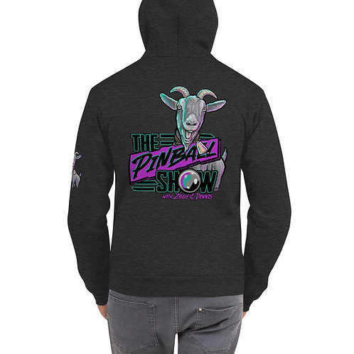 The Pinball Show Goat Zip-Up Hoodie