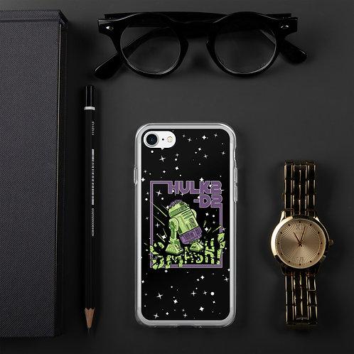 HULK2-D2 iPhone Case BLACK