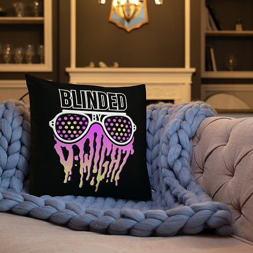 Blinded By D-wight Premium Pillow 2-SIDE