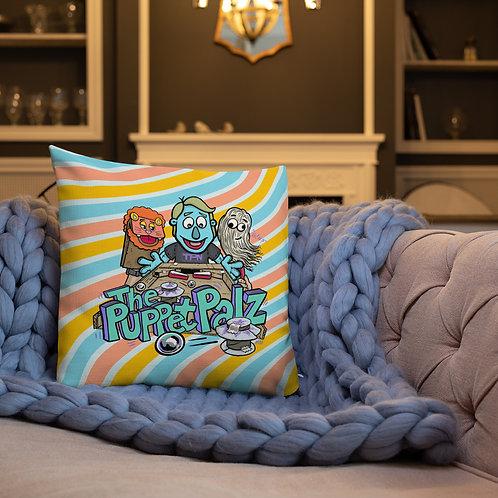The Puppet Palz Premium Pillow