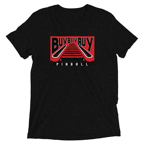 Buy Buy Buy Pinball Short Sleeve Tri-blend Shirt